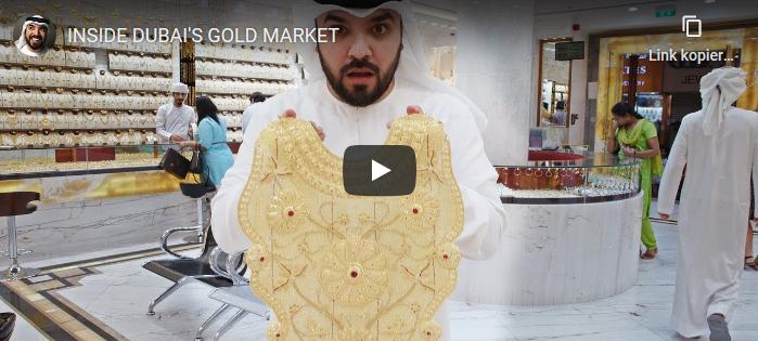 Die Stadt des Goldes Dubai