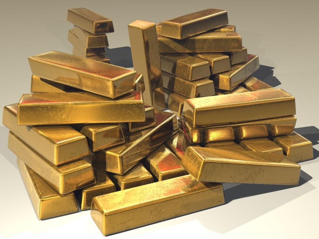 Goldmarkt und Corona
