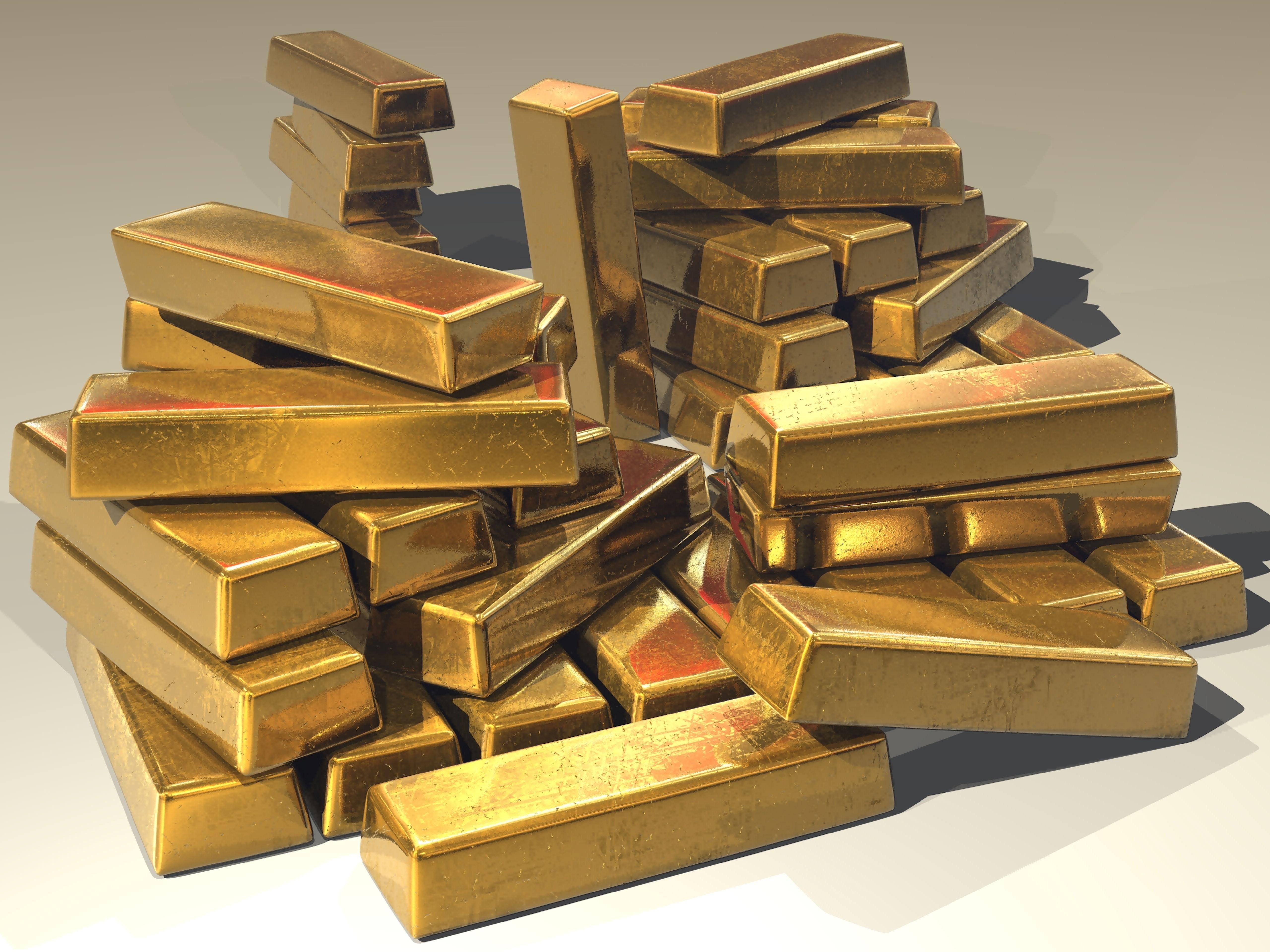 Gold unauffindbar