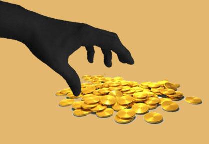 Goldbarren Diebstahl